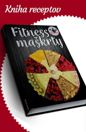 kniha fitness maškrty, zdravé recepty na chutné koláčiky