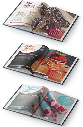 kniha fitness maškrty, náhľad receptov