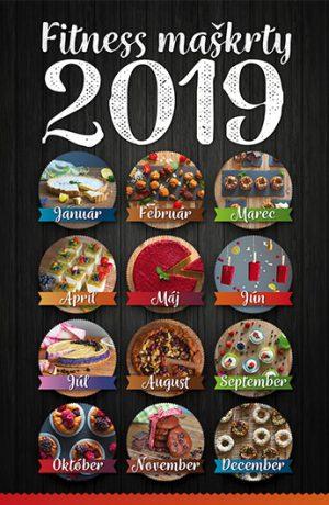 kalendár fitness maškrty, recepty zdravé