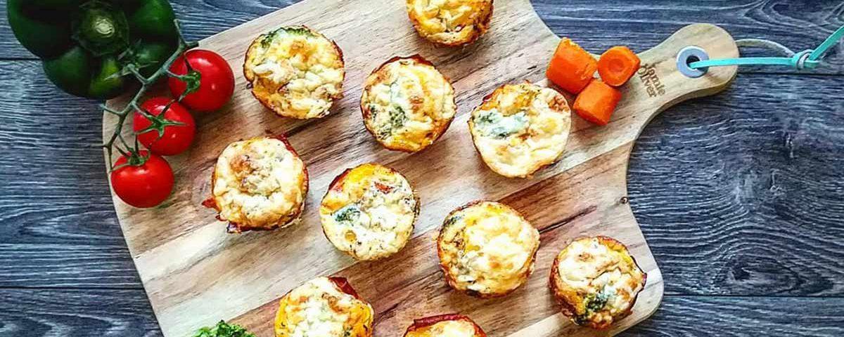 recept na zeleninové muffiny